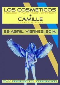 LOS COSMETICOS + CAMILE @ AVV ARREBATO | Zaragoza | Aragón | España