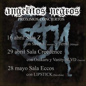 OSUKARU + VANITY BLVD + ANGELITOS NEGROS @ SALA CREEDENCE | Zaragoza | Aragón | España