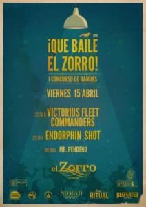 ENDORPHIN SHOT + VICTORIUS FLEET COMMANDERS @ PUB EL ZORRO | Zaragoza | Aragón | España