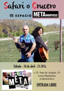 SAFARI O CRUCERO @ Espacio METAmorfosis | Zaragoza | Aragón | España