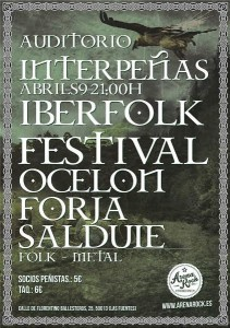 IBERFOLK FESTIVAL @ AUDITORIO INTERPEÑAS | Zaragoza | Aragón | España