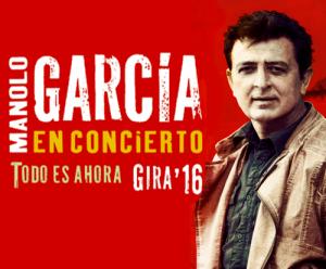 MANOLO GARCÍA @ PABELLON PRINCIPE FELIPE | Zaragoza | Aragón | España