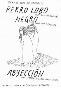 PERRO LOBO + NEGRO + ABYECCION @ AVV ARREBATO | Zaragoza | Aragón | España