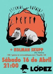 PERRO + KOLMAN SKUPP @ SALA LÓPEZ | Zaragoza | Aragón | España