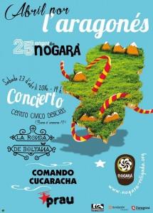 CONCIERTO POR L´ARAGONÉS @ CENTRO CÍVICO DELICIAS | Zaragoza | Aragón | España
