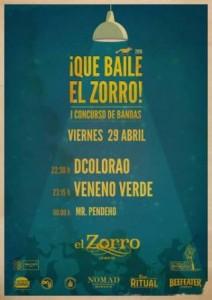 DCOLORAO y VENENO VERDE @ PUB EL ZORRO | Zaragoza | Aragón | España