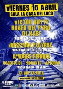 RAP FEST @ LA CASA DEL LOCO | Zaragoza | Aragón | España