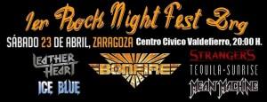 I ROCK NIGHT FEST ZARAGOZA @ CENTRO CÍVICO VALDEFIERRO | Zaragoza | Aragón | España