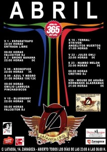 TERRAL + STRIVOR + ANGELITOS NEGROS @ SALA ZETA | Zaragoza | Aragón | España