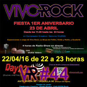 I ANIVERSARIO VIVO ROCK RADIO @ CONTENEDOR CREATIVO | Zaragoza | Aragón | España