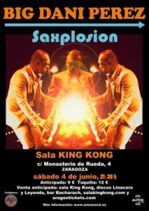 BIG DANI PÉREZ @ SALA KING KONG | Zaragoza | Aragón | España