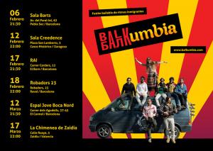 BALKUMBIA @ SALA CREEDENCE | Zaragoza | Aragón | España