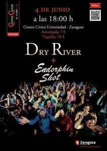 DRY RIVER + ENDORPHIN SHOT *SUSPENDIDO* @ CENTRO CIVICO UNIVERSIDAD | Zaragoza | Aragón | España
