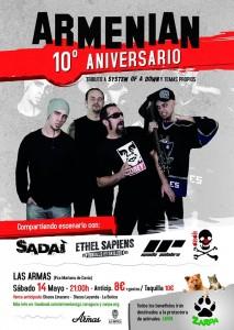 ARMENIAN @ LAS ARMAS | Zaragoza | Aragón | España