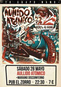 AULLIDO ATOMICO @ PUB EL ZORRO | Zaragoza | Aragón | España