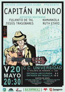 CAPITÁN MUNDO @ CENTRO CÍVICO UNIVERSIDAD | Zaragoza | Aragón | España