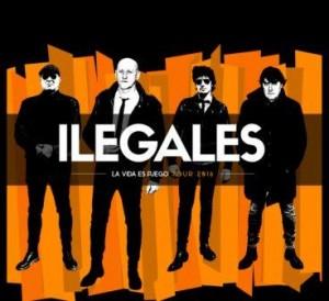 ILEGALES @ OASIS CLUB TEATRO | Zaragoza | Aragón | España