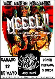 MEEEL!!! + SISAYO @ BAR BERLIN | Zaragoza | Aragón | España