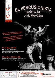 EL PERCUSIONISTA @ CENTRO CIVICO TEODORO SANCHEZ PUNTER | Zaragoza | Aragón | España