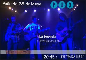 PUX @ LA BOVEDA DEL ALBERGUE | Zaragoza | Aragón | España