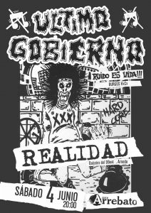 ÚLTIMO GOBIERNO + REALIDAD @ Avv ARREBATO | Zaragoza | Aragón | España