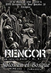RENCOR + SOLOS EN EL BOSQUE @ Avv ARREBATO | Zaragoza | Aragón | España