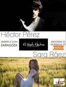 SARA RÁEZ Y HECTOR PÉREZ @ EL POETA ELÉCTRICO | Zaragoza | Aragón | España