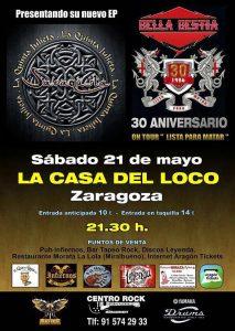 SARAQUSTA + BELLA BESTIA @ LA CASA DEL LOCO | Zaragoza | Aragón | España