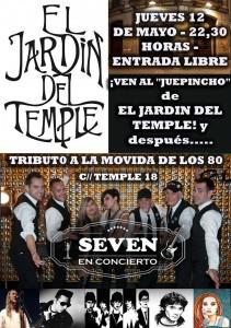 SEVEN @ EL JARDIN DEL TEMPLE | Zaragoza | Aragón | España