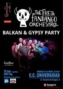 THE FREAK FANDANGO ORCHESTRA @ CENTRO CÍVICO UNIVERSIDAD | Zaragoza | Aragón | España