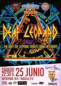 DEAF LEOPARD @ LA CASA DEL LOCO | Zaragoza | Aragón | España
