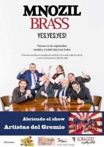 MNOZIL BRASS + ARTISTAS DEL GREMIO @ SALA LUIS GALVE | Zaragoza | Aragón | España