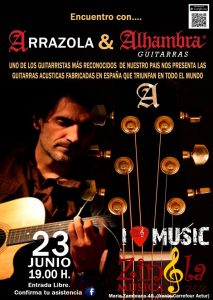 ARRAZOLA & ALHAMBRA guitarras @ ZINGLA MÚSICA | Zaragoza | Aragón | España