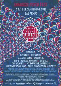 ZARAGOZA PSYCH FEST 2016 @ LAS ARMAS | Zaragoza | Aragón | España