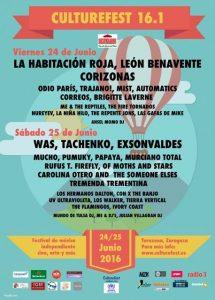CULTUREFEST 16.1 @ Recinto Culture Fest | Tarazona | Aragón | España