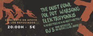 DUST BOWL + WARSONG + POL POT + ELEKTROYONKIS @ CSO KIKE MUR | Zaragoza | Aragón | España