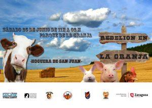 REBELION EN LA GRANJA @ PARQUE LA GRANJA | Zaragoza | Aragón | España