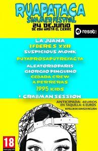 RUAPATACA SUMMER FESTIVAL @ SALA RESET | Zaragoza | Aragón | España
