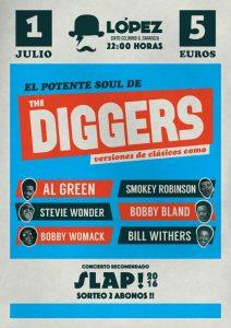 THE DIGGERS @ SALA LÓPEZ | Zaragoza | Aragón | España