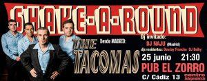 THE TACOMAS @ PUB EL ZORRO | Zaragoza | Aragón | España