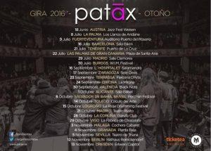 PATAX @ OASIS CLUB TEATRO | Zaragoza | Aragón | España