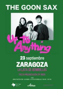 THE GOON SAX @ LA LATA DE BOMBILLAS | Zaragoza | Aragón | España