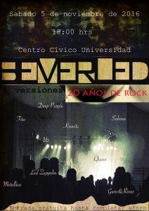 SEVERLED 20 AÑOS DE ROCK @ CENTRO CÍVICO UNIVERSIDAD | Zaragoza | Aragón | España