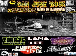 FESTIVAL SAN JOSÉ ROCK @ PARQUE JARDÍN DE LA MEMORIA