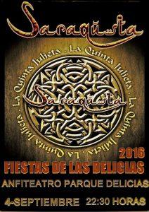 SARAQUSTA @ Anfiteatro Parque de las Delicias | Zaragoza | Aragón | España