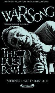WARSONG + THE DUST BOWL @ AVV ARREBATO | Zaragoza | Aragón | España