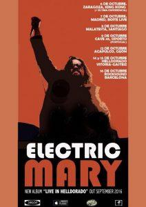 ELECTRIC MARY + ULTIMA EXPERIENCIA @ SALA KING KONG | Zaragoza | Aragón | España