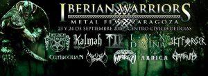 IBERIAN WARRIORS METAL FEST 2016 @ CENTRO CÍVICO DELICIAS | Zaragoza | Aragón | España