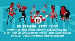 THE FUZILLIS @ LA CASA DEL LOCO | Zaragoza | Aragón | España