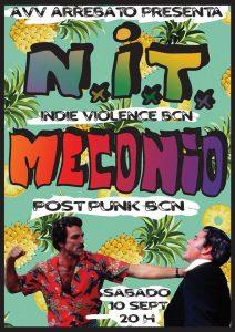 NIT + MECONIO @ Avv ARREBATO | Zaragoza | Aragón | España